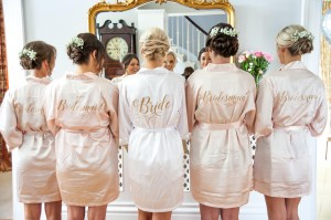 bridal - katie and bridesmaids
